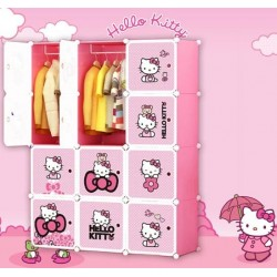 HELLO KITTY 12C DIY WARDROBE (KT12)
