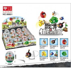 Angry Bird Miniature ToyEgg (Per Pc)