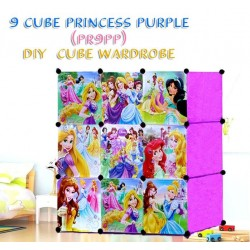 PRINCESS PURPLE 9C DIY WARDROBE (PR9PP)