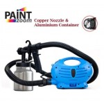 KCJ Paint Zoom Plus Electric Paint Spray Gun Upgraded Copper & ALUContainer