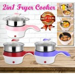 2in1 Fryer Cooker