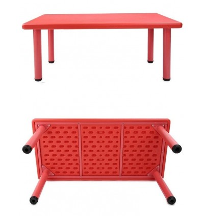 Study Playing Dining Kids Square Shaped Table (Table Only)