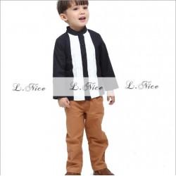 LNICE BOY SET -BLACKWHITE (Code Colour 4)