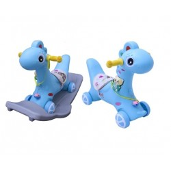 2in1 Rocking Horse with Wheels & Base