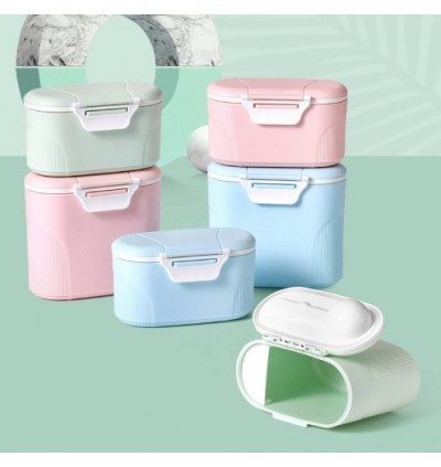 New Baby Milk Powder Storage Airtight Portable Container Tank Sealed Canisters (With Spoon)