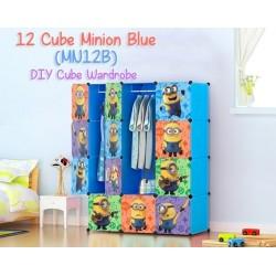 MINION BLUE 12C DIY CUBE WARDROBE (MN12B)