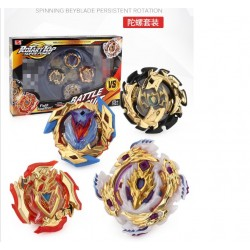 ETA 3/5 KCJ GOLD BEYBLADE BURST 4D ROTARY TOP SUPERPOWER BATTLE SUIT WITH LAUNCHER ARENA
