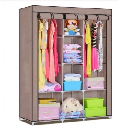KCJ King Size Multifunctional Wardrobe