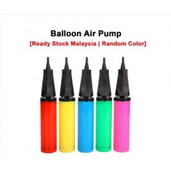 KCJ Balloon Air Hand Pump Deco Wedding Party Stage