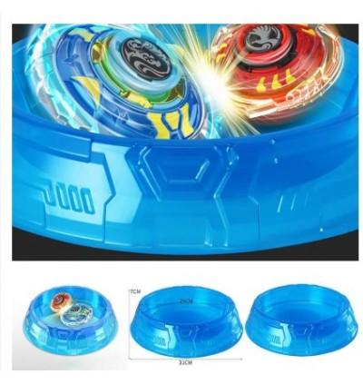 KCJ Kids Toy Combat Battle Stadium Plastic Beyblade Burst Battlefiled Top Plate Beyblade Arena Beystadium